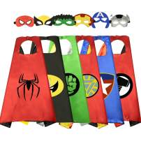 Birthday Presents Gifts for 3-10 Year Old Boys Cartoon Super Hero Satin Capes Dress up for Kids Party Favor Toys for 3-10 Year Old Boys RKUSPF006…