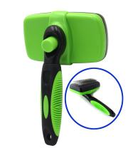 Proyatech Pet Self Cleaning Slicker Brushes Pet Grooming Brush - Best Shedding Tools for Grooming Cat Dog Long & Thick Hair