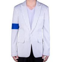 MJB2C-Style of Michael Jackson Smooth Criminal Costume Armband Suit Jacket