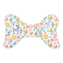 Original Baby Elephant Ears Head Support Pillow for Stroller, Swing, Bouncer, Changing Table, Car Seat, etc. (Woodland Wonder)