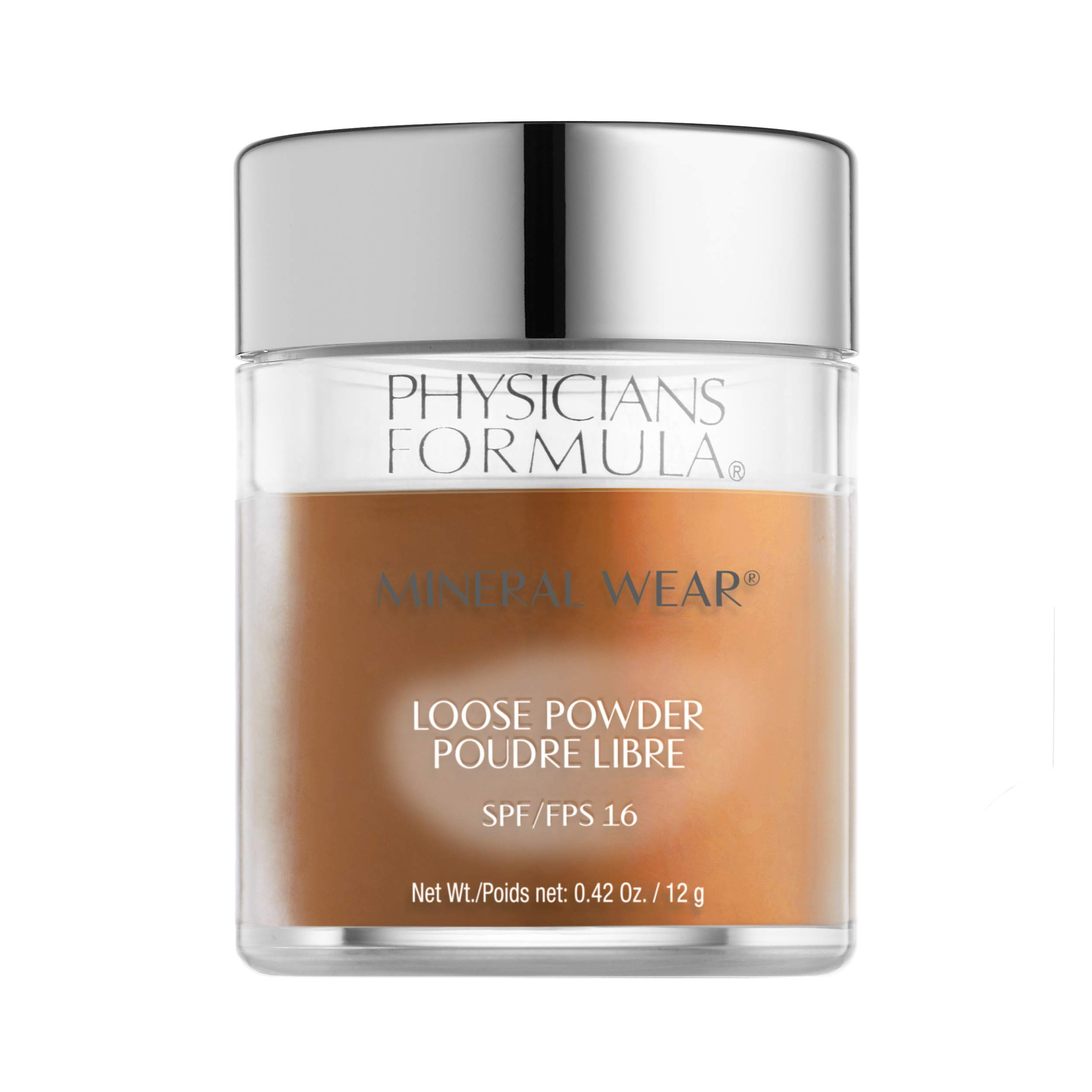 Physicians Formula Spf 16 Mineral Wear Loose Powder, Deep Cocoa, 0.42 Ounce