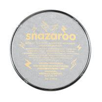 Snazaroo Face and Body Paint, 18ml, Metallic Silver, 6 Fl Oz