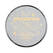 Snazaroo Face and Body Paint, 18ml, Metallic Silver, 6 Fl Oz