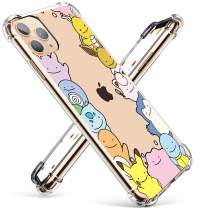 """Coralogo for iPhone 11 Pro Max TPU Case,3D Animal Cute Cartoon Funny Design Character Protective Stylish Kawaii Fashion Fun Unique Cover Skin Teens Kids Girls Cases for iPhone 11 Pro Max 6.5"""" (Elf"""