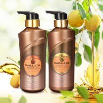Hair Repair Shampoo & Conditioner Set, Y.F.M Intensive Repair Moisture Shampoo & Conditioner Kit, Natural Daily Shampoo Gentle on Curly & Color Treated Hair,For Men & Women 500 ml x 2
