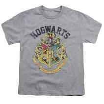 Popfunk Harry Potter Retro Hogwarts Logo Kids Youth T Shirt & Stickers