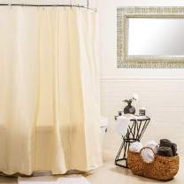 Splash Home Waterproof, Mold/Mildew Resistant, Premium Quality Vinyl Curtain Liner for Bathroom Shower and Bathtub-70 x 72 (Beige)