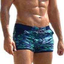 Taddlee Men Swimwear Swimsuits Swim Boxer Briefs Bikini Board Shorts Long Trunks