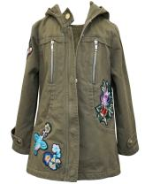 Truly Me Girls' Outerwear Bomber Jackets