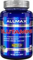 ALLMAX GLUTAMINE, 100% Pure Japanese Grade Micronized Powder, Dietary Supplement, 100g