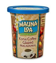Mauna Loa Premium Hawaiian Roasted Macadamia Nuts, Kona Coffee Glazed, 5 Oz Cup (Pack of 1)