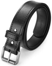 Autolock The Ultimate Concealed Carry CCW Gun Belt - 1 1/2 inch Heavy Leather Belt for Gun Carry