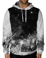 INTO THE AM Galaxy Hoodie Sweatshirts - Long Sleeve Unisex Pullover Hoodies