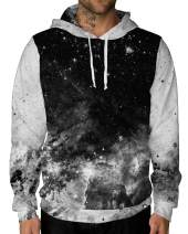 INTO THE AM Galaxy Hoodie Sweatshirts - Long Sleeve Unisex Pullover Hoodies