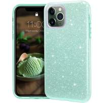 MATEPROX iPhone 11 Pro Max case,Bling Sparkle Cute Girls Women Protective Case for iPhone 11 Pro Max 6.5inch(Green)