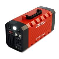 Pinty Portable Uninterrupted Power Supply 500W, Rechargeable Generator Power Source with AC Inverter, USB, DC 12V Outputs for Outdoors and Indoors, UPS Battery Backup,