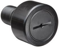 "McGill CFH1 1/4S Cam Follower, Heavy Stud, Sealed/Slotted, Inch, Steel, 1-1/4"" Roller Diameter, 3/4"" Roller Width, 1-1/4"" Stud Length, 3/4"" Thread Size, 2-1/32"" Overall Length, 3/4"" Stud Diameter"