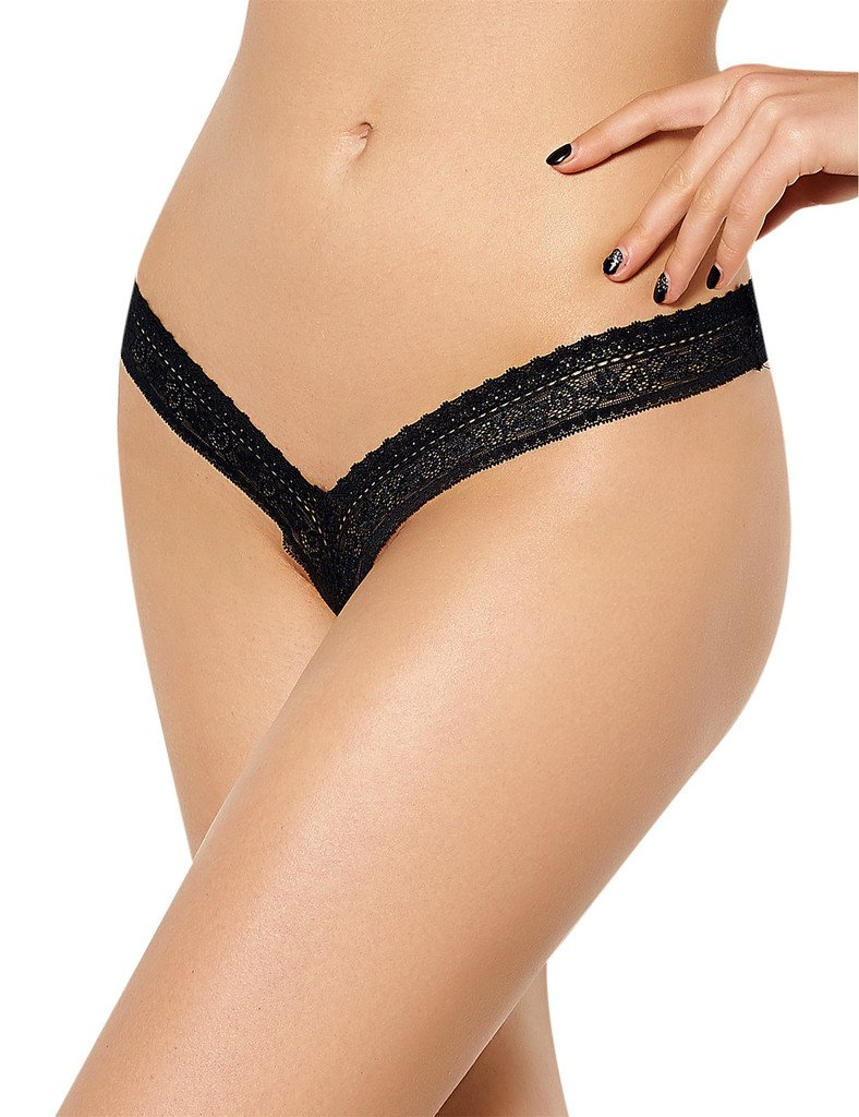 ohyeahlady Women's Lace G-String Thong Panties Tangas Plus Size Underwear V String