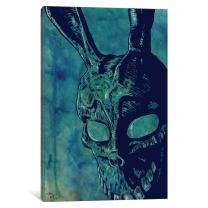 "iCanvasART iCanvas Icons: Donnie Darko Gallery Wrapped Canvas Art Print by Giuseppe Cristiano 40"" x 26"""