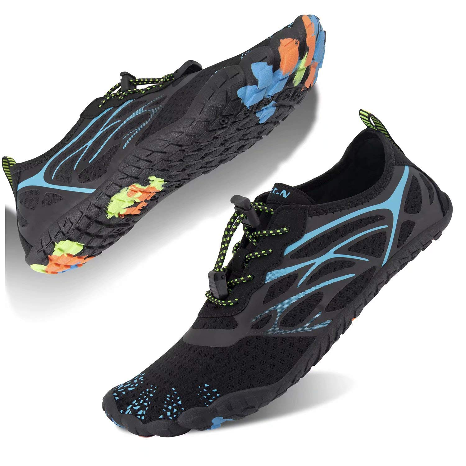 Water-Shoes-Mens-Womens Quick-Dry Barefoot-Swim Diving Shoes-Aqua-Socks for Sports Climbing Beach Surf