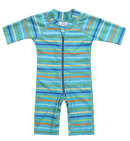 Dalary Baby Girl One-Piece Swimsuit Sun-Protection Rash Guard Sun Suits Bodysuit Swimwear