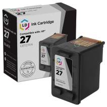 LD Remanufactured Ink Cartridge Replacement for HP 27 C8727AN (Black)