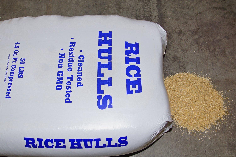 Nature's Seed S-RICE-25-LB Rice Hulls