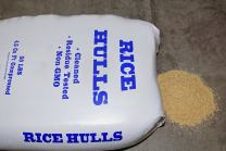 Nature's Seed S-RICE-25-LB Rice Hulls