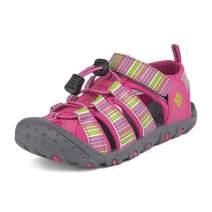 DREAM PAIRS Boys Girls Closed-Toe Outdoor Summer Sport Sandals(Toddler/Little Kid/Big Kid)