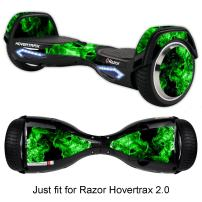GameXcel Sticker for Hover Board - Skin for Self-Balancing Electric Scooter - Decal for Self Balance Mobility Longboard - Smart Protective Cover Vinyl Case for 2 Wheel Scooter Board Fit for Razor 2.0