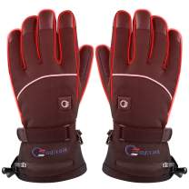 OUTCOOL Heated Gloves for Men Women Touchscreen Electric Heated Ski Gloves