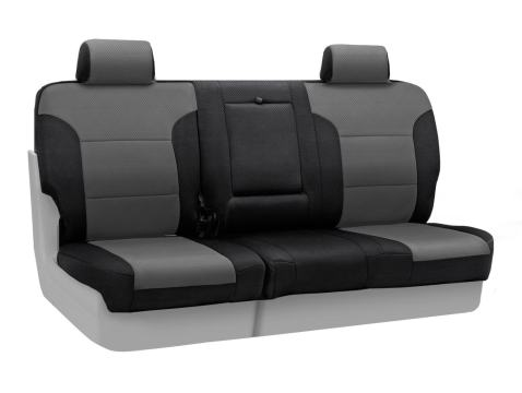 Saddleblanket Black with Neosupreme Black Sides Coverking Custom Fit Front 50//50 Bucket Seat Cover for Select Honda Fit Models