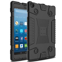 Venoro Case for All-New Amazon Fire HD 8 Tablet, Fire 8 2017/2018 case Shockproof Protective Case Cover for Amazon Fire HD 8 Tablet (7th 8th Generation - 2017 2018 Release Only) (Black)