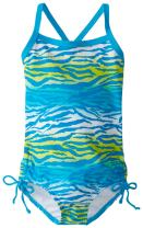 Kanu Surf Baby Girls' Malea Zebra 1 Piece Swim