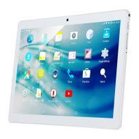 "Kivors 10.1"" Inch 3G Touch Tablet PC - Android 7.0-2GB RAM + 32GB ROM - Quad Core Unlocked 3G Cell Phone Tablets - 1280x800 HD - Dual Camera - Dual Sim Card Slots, WiFi, GPS (Silver)"