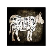 Butcher Shop II by LightBoxJournal, 35x35-Inch Canvas Wall Art