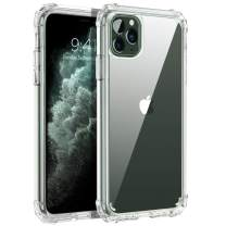 BENTOBEN iPhone 11 Pro Case, iPhone 11 Pro Phone Case, Clear Transparent Phone Cases Cover for iPhone 11 Pro 5.8 inch 2019, Crystal Clear