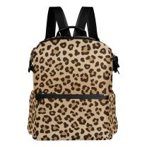 ALAZA Leopard Print Casual Backpack Lightweight Travel Daypack Student School Bag