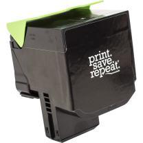 Print.Save.Repeat. Lexmark 71B1HK0 Black High Yield Remanufactured Toner Cartridge for CS417, CS517, CX417, CX517 [6,000 Pages]