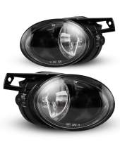AUTOFREE Fog Lights for 2006-2010 Volkswagen Passat with 9006 12V 51W Bulbs Fog Lamps Replacement -1 Pair (Clear Lens)