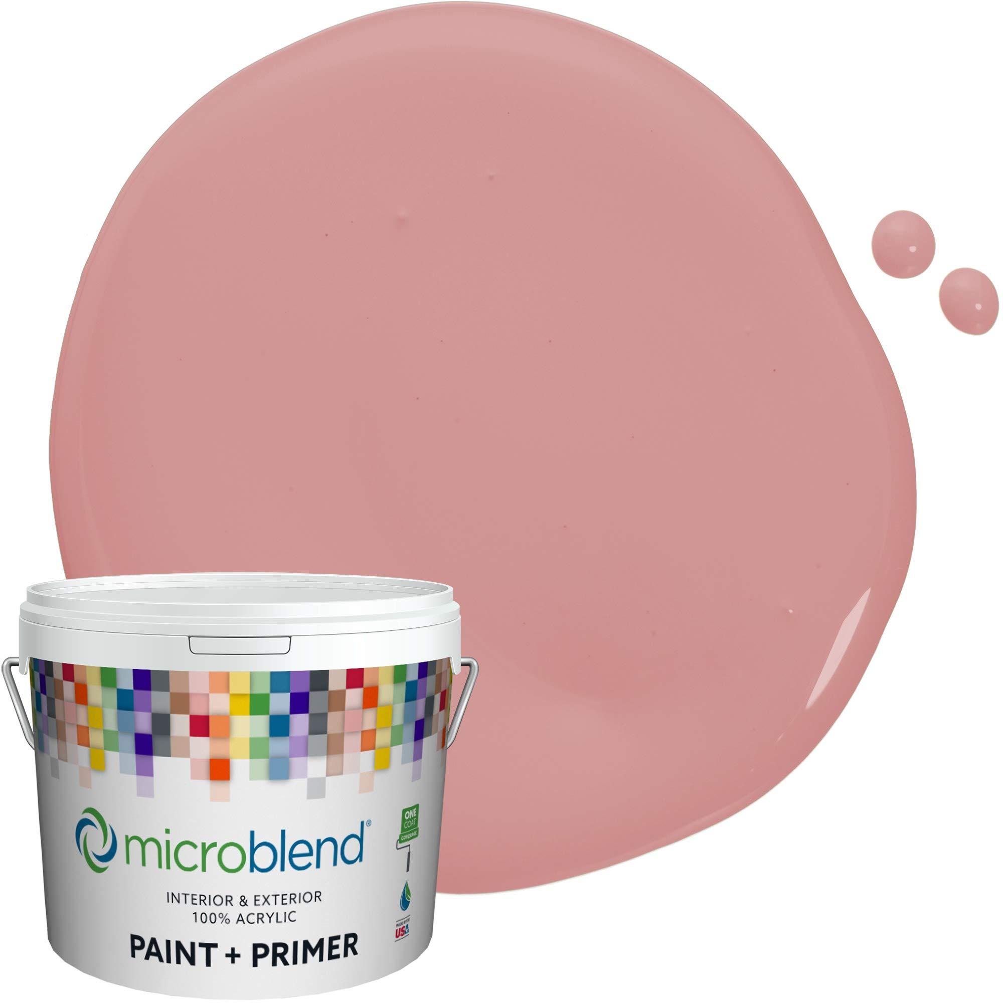 MicroBlend Interior Paint + Primer, Little Regina, Eggshell Sheen, 1 Gallon, Custom Made, Premium Quality One Coat Hide & Washable Paint (73221-2-M1888B3)