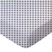 SheetWorld Fitted Portable / Mini Crib Sheet - Grey Gingham Check - Made In USA