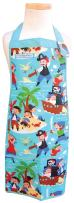 The Piggy Story 'Pirates Ahoy!' Child's Fun Time Apron for Arts, Crafts and Cooking