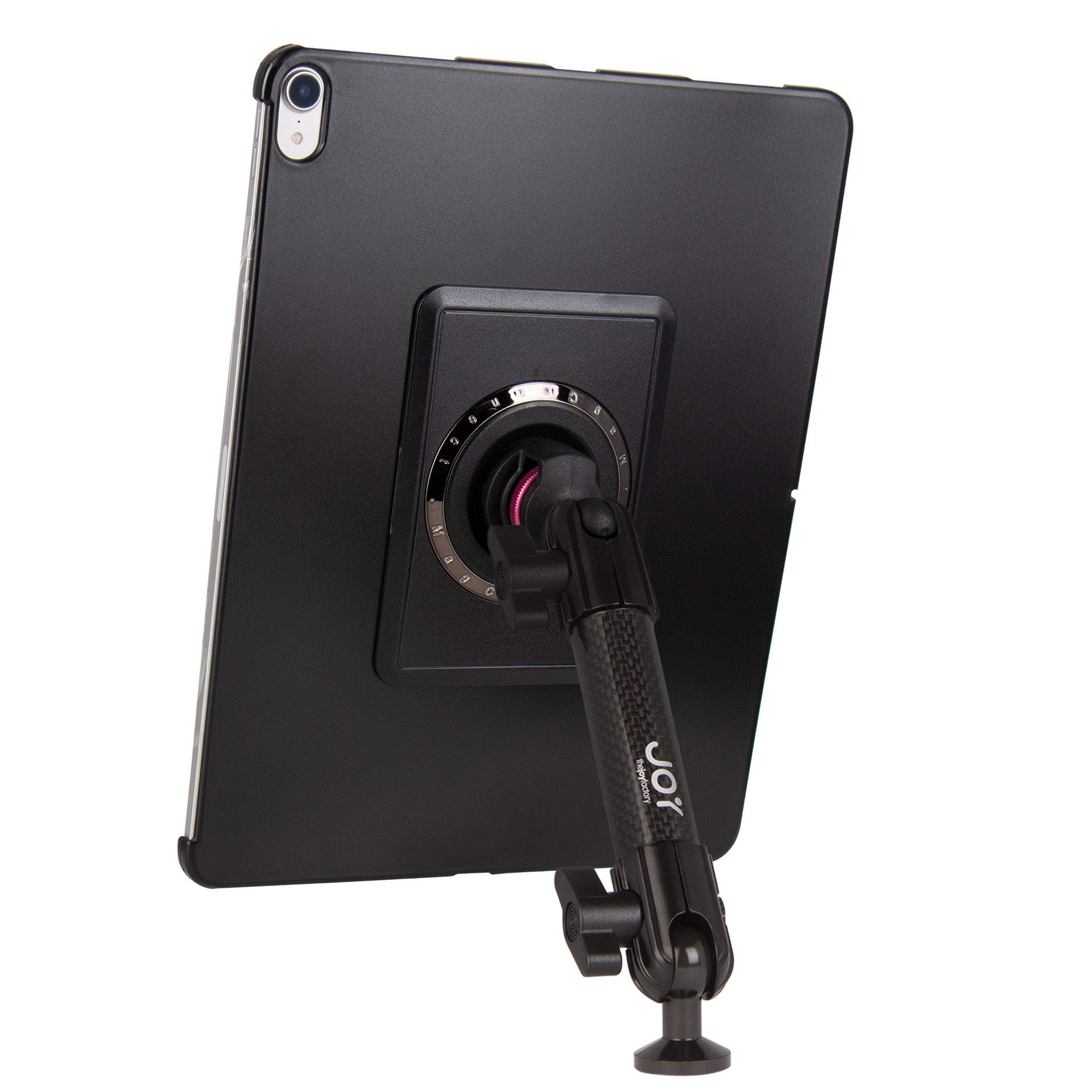 """The Joy Factory MagConnect Carbon Fiber Tripod/Microphone Stand Mount for iPad Pro 12.9"""" [3rd Gen] (MMA4101)"""