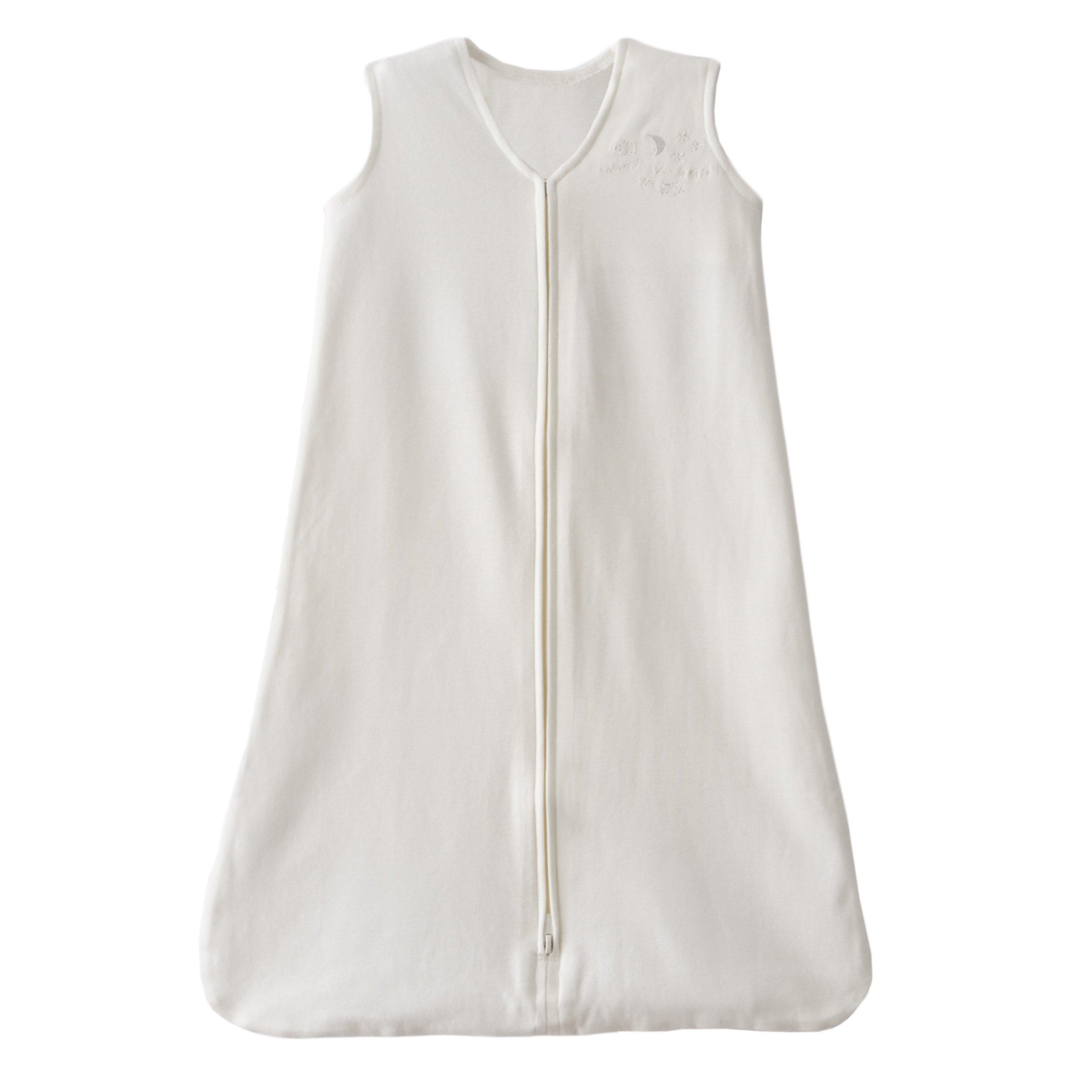 HALO Sleepsack 100% Organic Cotton Wearable Blanket, Natural, Medium