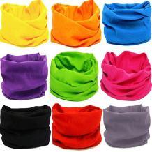 KALILY 12pcs/9pcs/6pcs Headband Bandana - Face Mask Headwear Neck Gaiter Shield Scarf