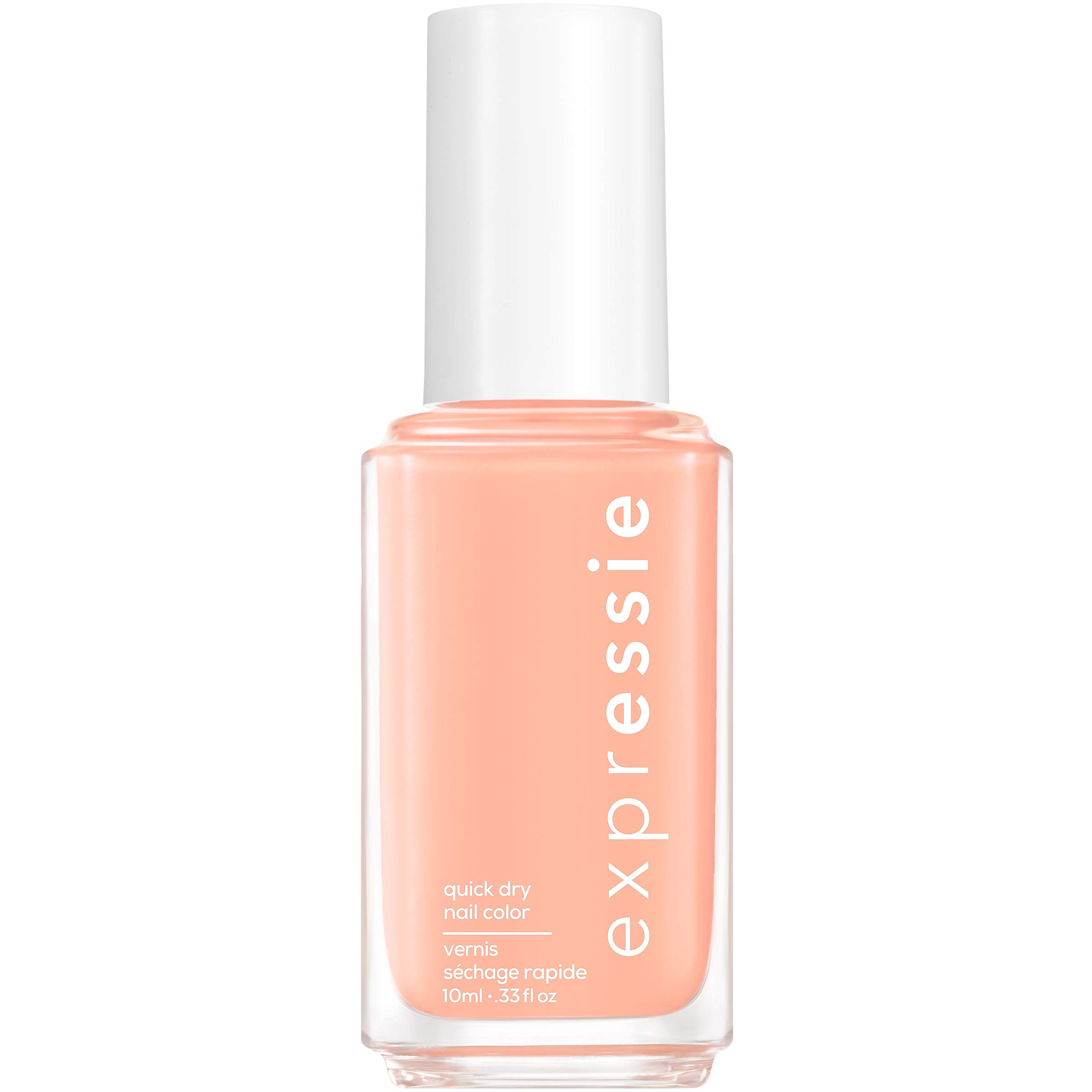 essie expressie Quick-Dry Nail Polish, Peach 130 All Things Ooo, 0.33 Ounces
