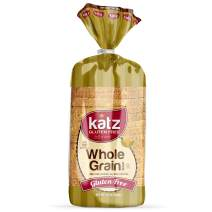 Katz Gluten Free Whole Grain Bread   Dairy, Nut, Soy and Gluten Free   Kosher (6 Packs of 1 Sliced Loaf, 21 Ounce Each)