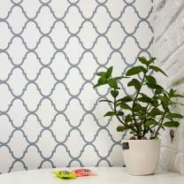 Trellis Wallpaper Stick and Peel Wall Paper NOT See Through Peel and Stick Wallpaper Self Adhesive Wallpaper Removable Wallpaper Vinyl Faux Wallpaper Roll Shelf Liner Wall Decor