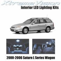 Xtremevision Interior LED for Saturn L Series Wagon 2000-2006 (6 Pieces) Cool White Interior LED Kit + Installation Tool